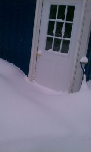 I think the shovels are in there.